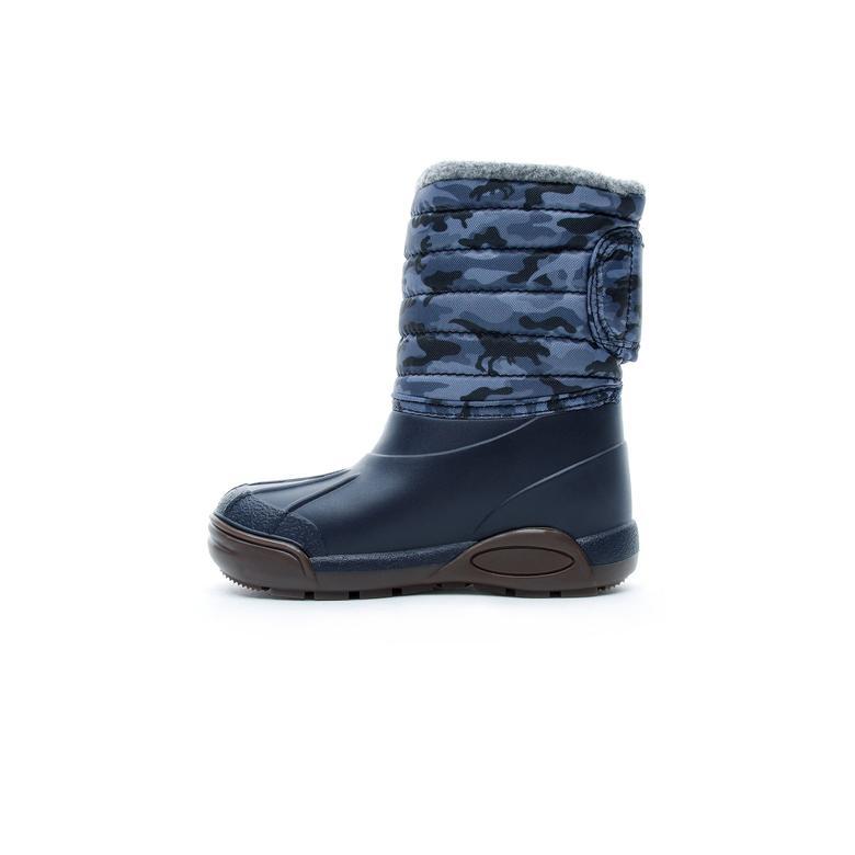 Igor Topo Ski Camo Lacivert Çocuk Yağmur Botu