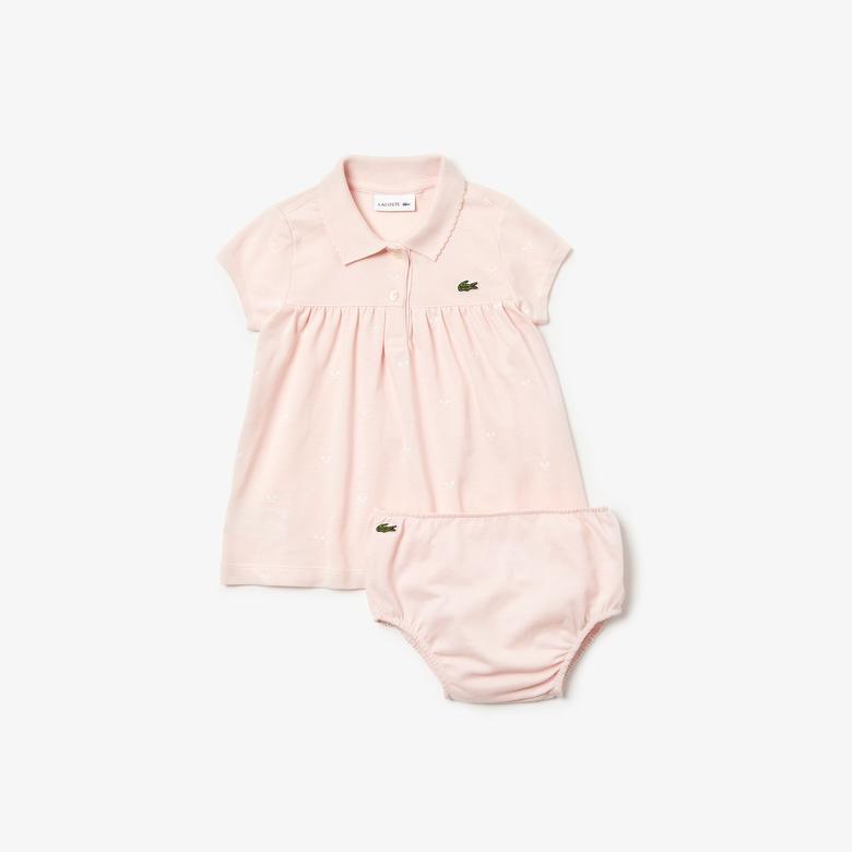 Lacoste Bebek Pembe Pijama