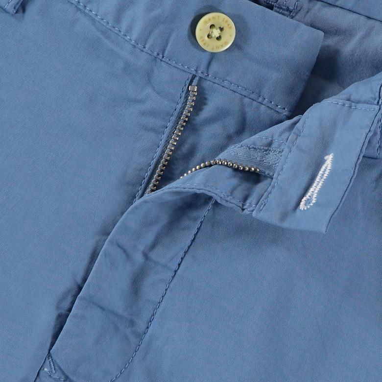 Gant Erkek Mavi Slim Fit Chino Pantolon