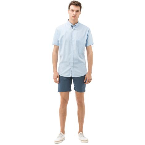 Nautica Erkek Mavi Slim Fit Bermuda