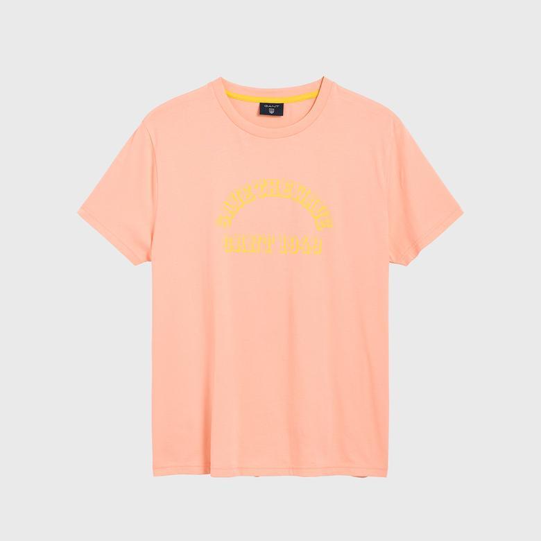Gant Erkek Turuncu Surf T-Shirt