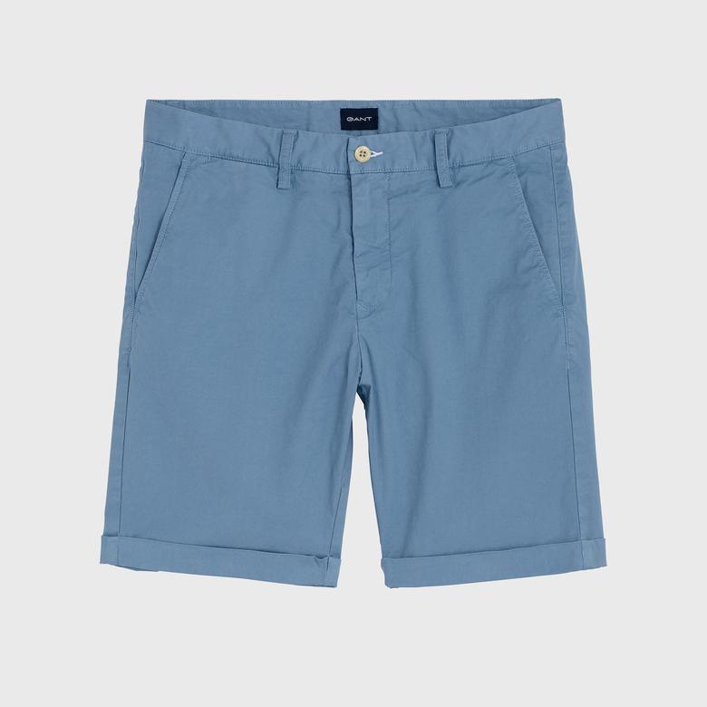 Gant Erkek Mavi Regular Fit Bermuda Şort