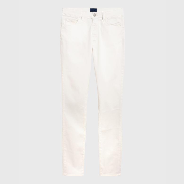 Gant Kadın Krem Rengi Pantolon