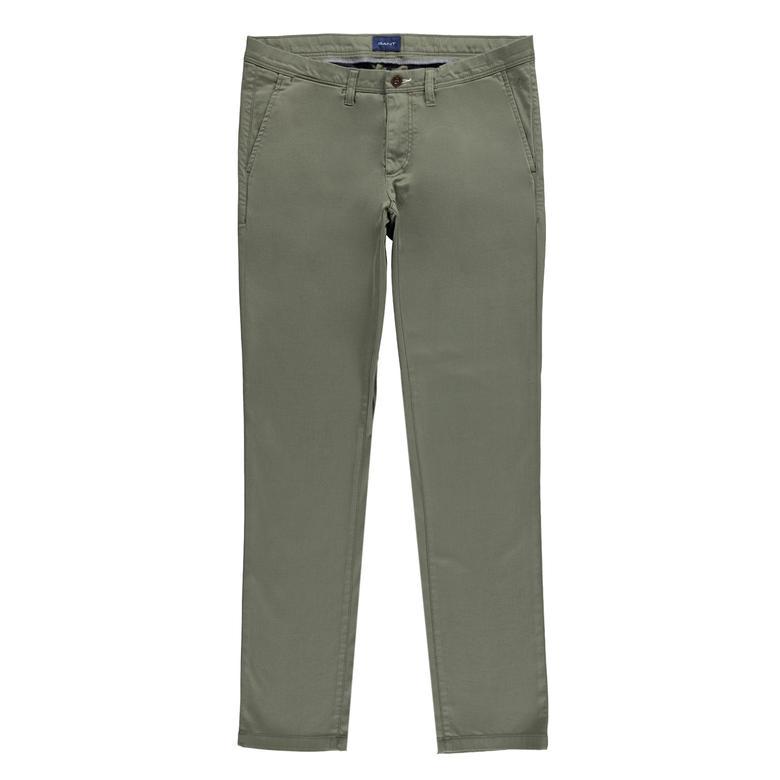 Gant Erkek Slim Kahverengi Chino Pantolon