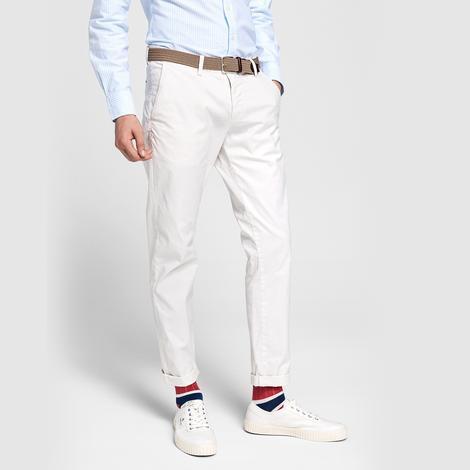 Gant Erkek Beyaz Slim Fit Chino Pantolon