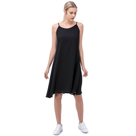 Nautica Kadın Siyah Askılı Elbise