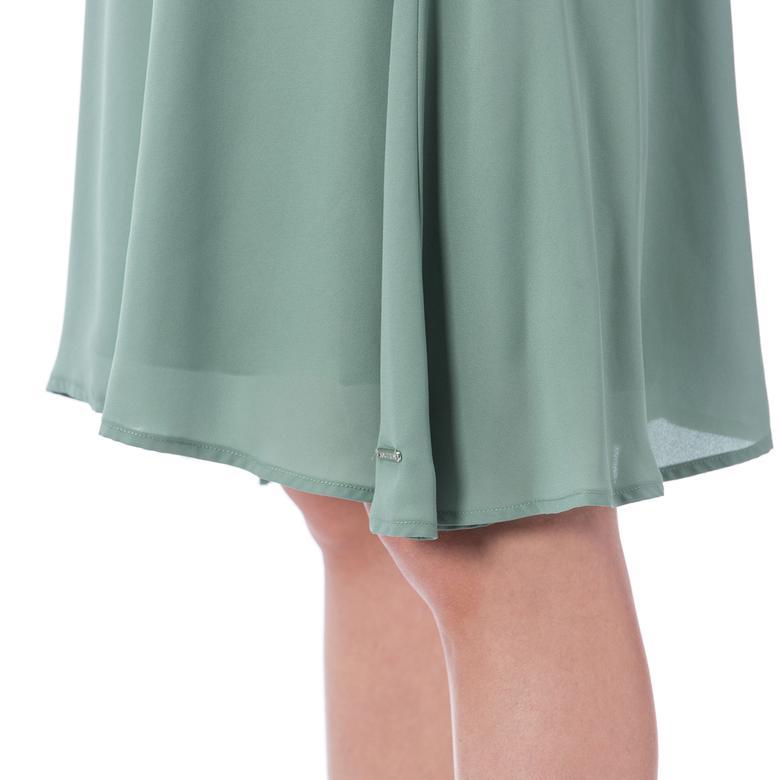 Nautica Kadın Yeşil Askılı Elbise