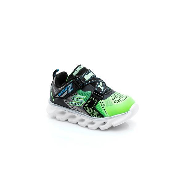 Skechers Hypno-Flash Işıklı Bebek Yeşil Spor Ayakkabı