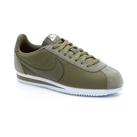 Nike Classic Cortez Nylon Unisex Yeşil Spor Ayakkabı