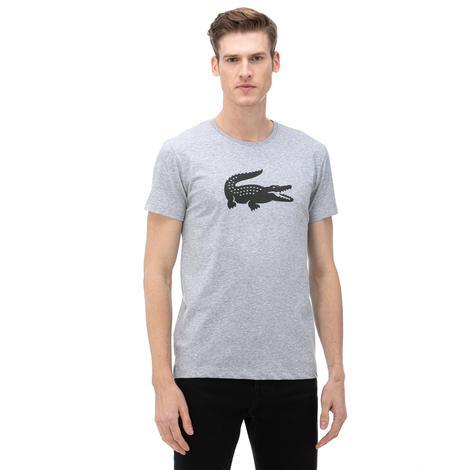 Lacoste Sport Erkek Gri T-Shirt