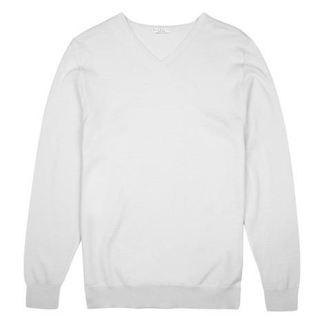 Bluemint Erkek Beyaz Triko