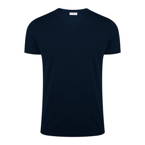 Bluemint Erkek Lacivert V Yaka Pima T-Shirt