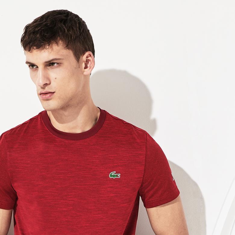 Lacoste Novak Djokovic Erkek Kırmızı T-Shirt