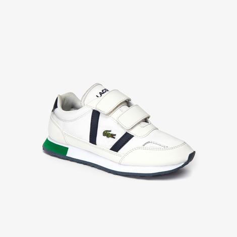 Lacoste Partner Çocuk Bej - Lacivert Spor Ayakkabı