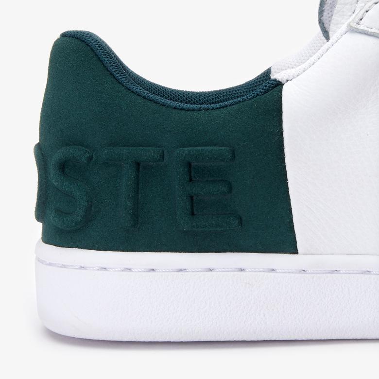 Lacoste Carnaby Evo 419 2 Sfa Kadın Beyaz - Koyu Yeşil Sneaker