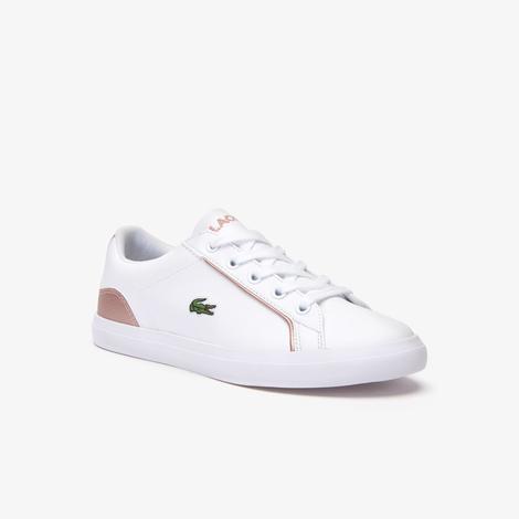 Lacoste Lerond Çocuk Beyaz - Pembe Spor Ayakkabı