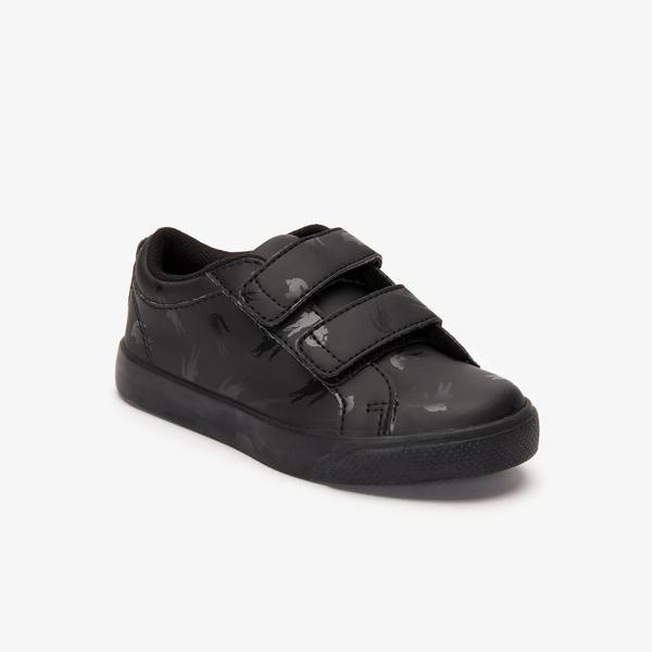 Lacoste Straightset Çocuk Siyah Spor Ayakkabı