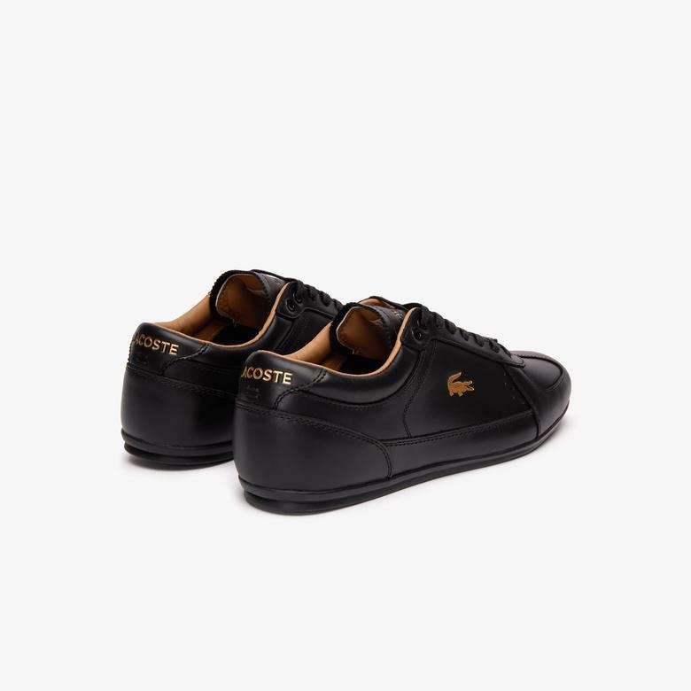 Lacoste Evara Premium 319 1 Us Cma Erkek Siyah Casual Ayakkabı