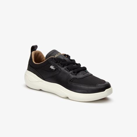 Lacoste Wildcard Kadın Siyah - Bej Spor Ayakkabı