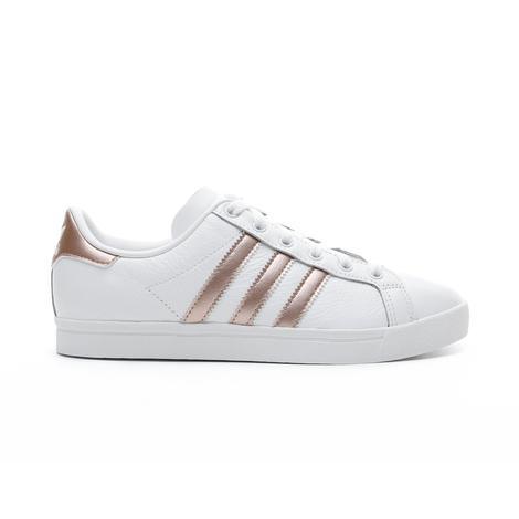 adidas Coast Star Kadın Beyaz - Rose Gold Spor Ayakkabı