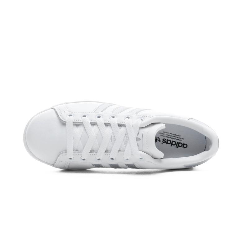 adidas Coast Star Kadın Beyaz - Gümüş Spor Ayakkabı