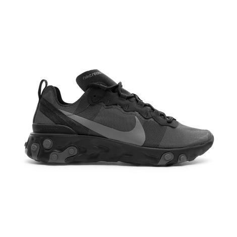 Nike React Element 55 Erkek Siyah Spor Ayakkabı