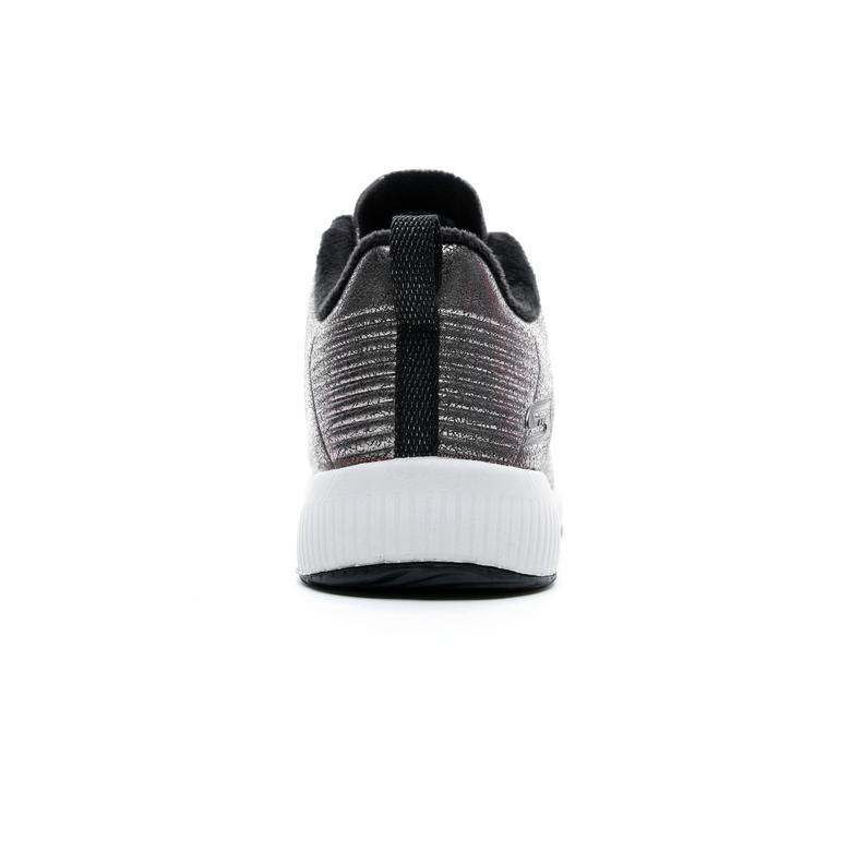 Skechers Bobs Squad Gri Kadın Spor Ayakkabı