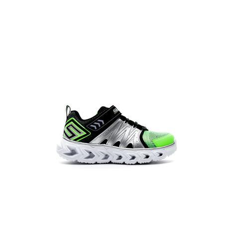 Skechers Hypno-Flash 2.0 Işıklı Çocuk Yeşil-Siyah Spor Ayakkabı