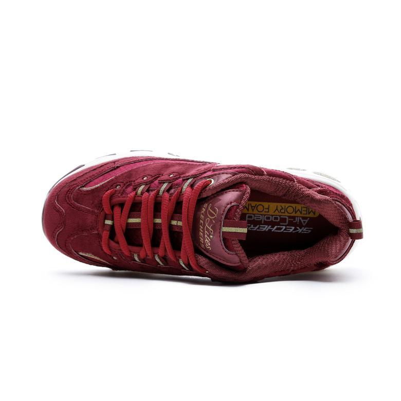 Skechers D'Lites Bordo Kadın Spor Ayakkabı