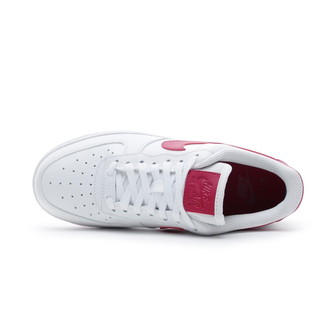 Evolucionar Civilizar pulmón  Nike Air Force 1 '07 Beyaz - Kırmızı Kadın Spor Ayakkabı AH0287 | Occasion
