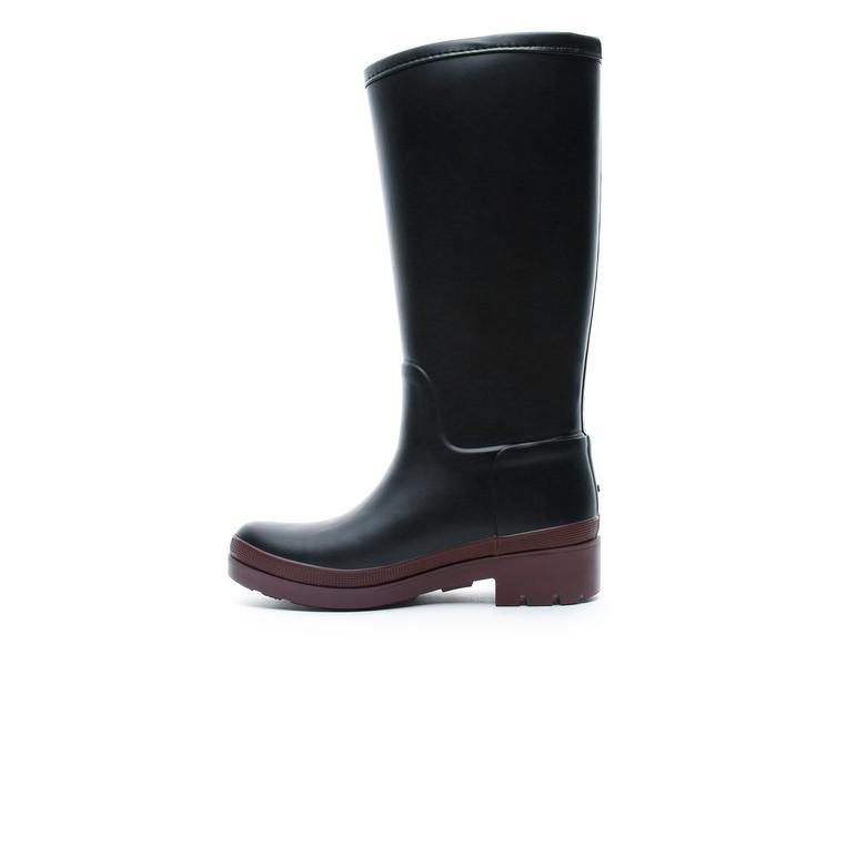 Tommy Hilfiger Warmlined Kadın Siyah Yağmur Çizmesi