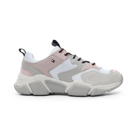 Tommy Hilfiger Cosy Chunky Kadın Beyaz Spor Ayakkabı