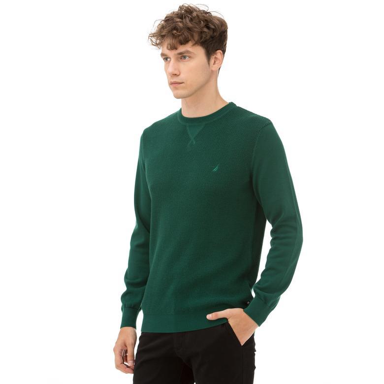 Nautica Yeşil Erkek Triko