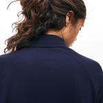 Lacoste Motion Kadın Relax Fit Lacivert Örme Gömlek