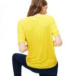 Lacoste Motion Kadın Sarı T-Shirt