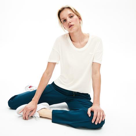Lacoste Motion Kadın Beyaz T-Shirt
