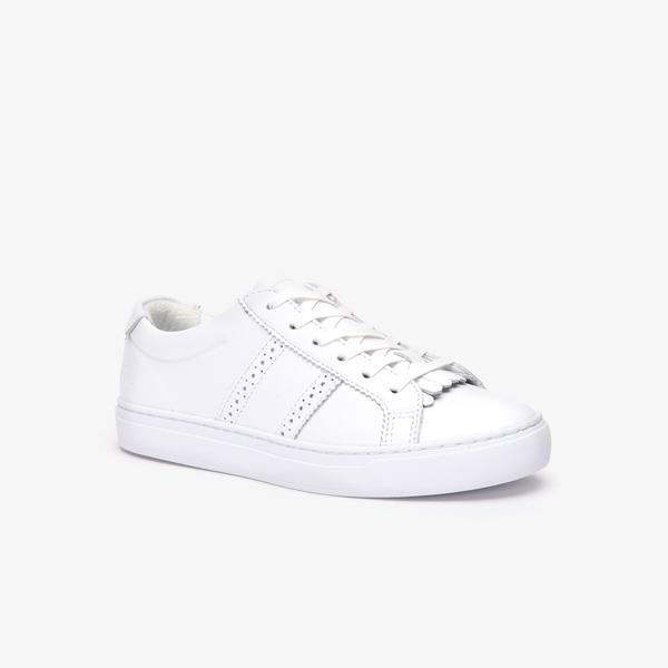 Lacoste City Club 319 1 Cfa Kadın Beyaz Casual Ayakkabı