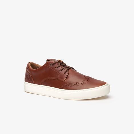 Lacoste City Club 319 1 Cma Erkek Kahverengi - Bej Casual Ayakkabı