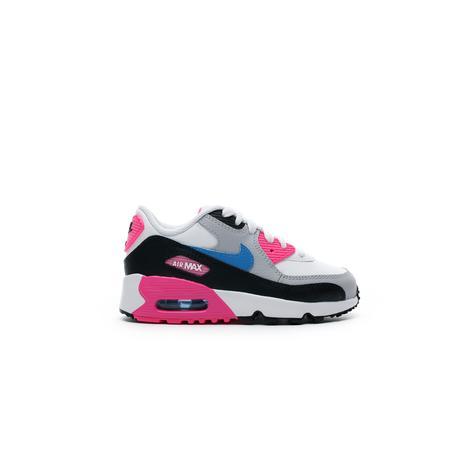 Nike Air Max 90 Pembe - Gri Çocuk Spor Ayakkabı