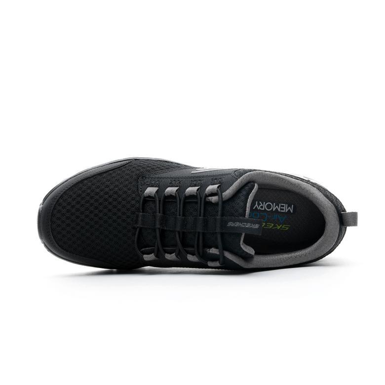 Skechers Mesh Jogger Siyah Erkek Spor Ayakkabı
