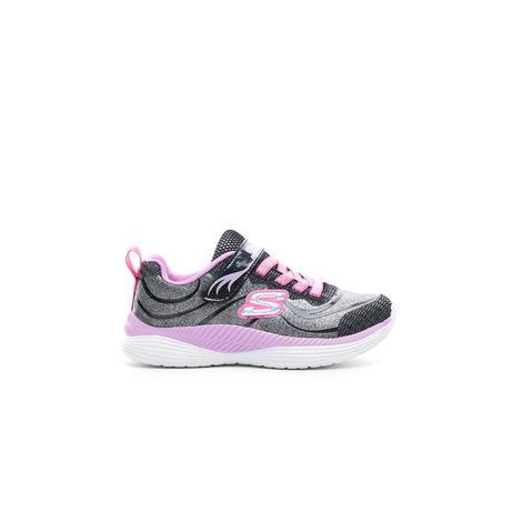Skechers Move'N Groove Gri-Pembe Çocuk Spor Ayakkabı