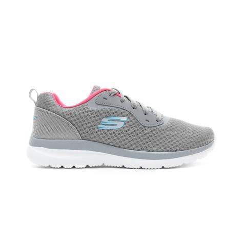 Skechers Bountiful Gri Kadın Spor Ayakkabı