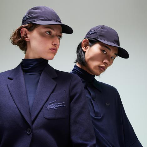 Lacoste Fashion Show Unisex Timsah Nakışlı Lacivert Şapka
