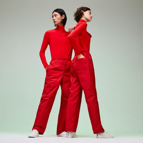 Lacoste Fashion Show Unisex Kırmızı Pantolon