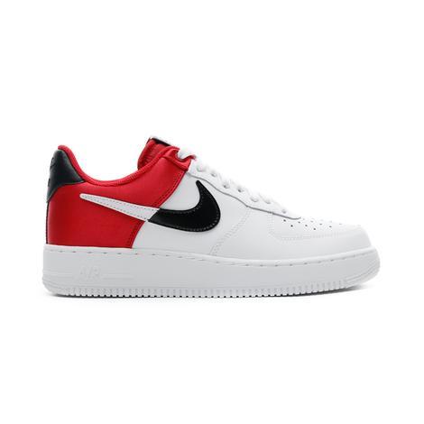 Nike Air Force 1 NBA Low Beyaz-Kırmızı Kadın Spor Ayakkabı