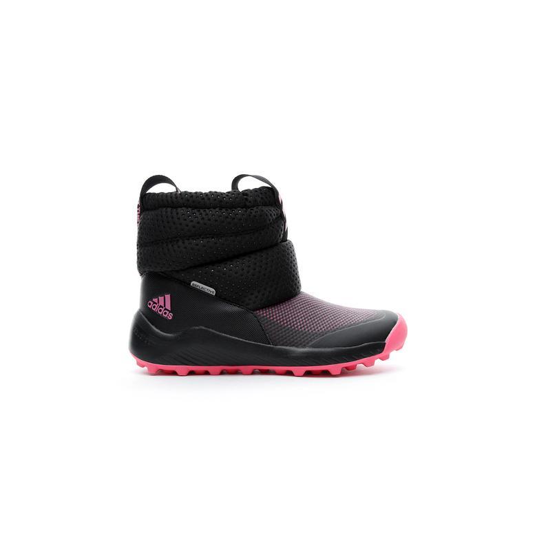 adidas RapidaSnow Çocuk Siyah Bot