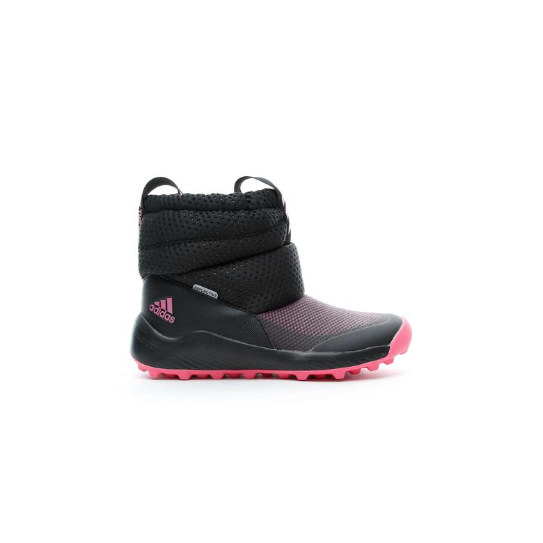 adidas RapidaSnow Bebek Siyah-Pembe Bot