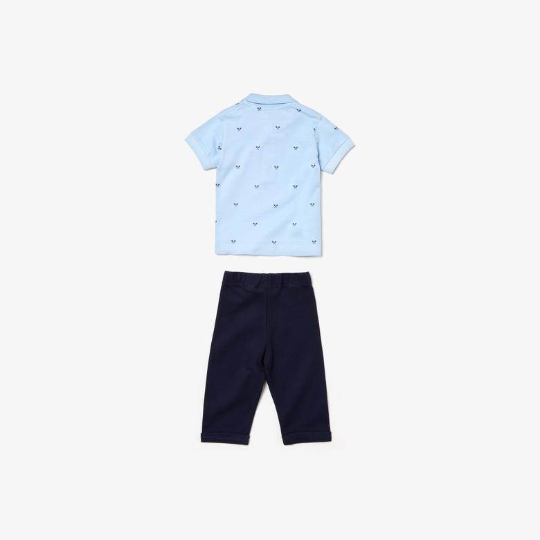 Lacoste Bebek Mavi-Lacivert Pijama