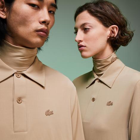 Lacoste Fashion Show Unisex Bej Polo
