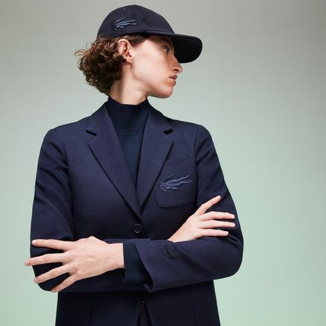 Lacoste Fashion Show Kadın Lacivert Blazer Ceket